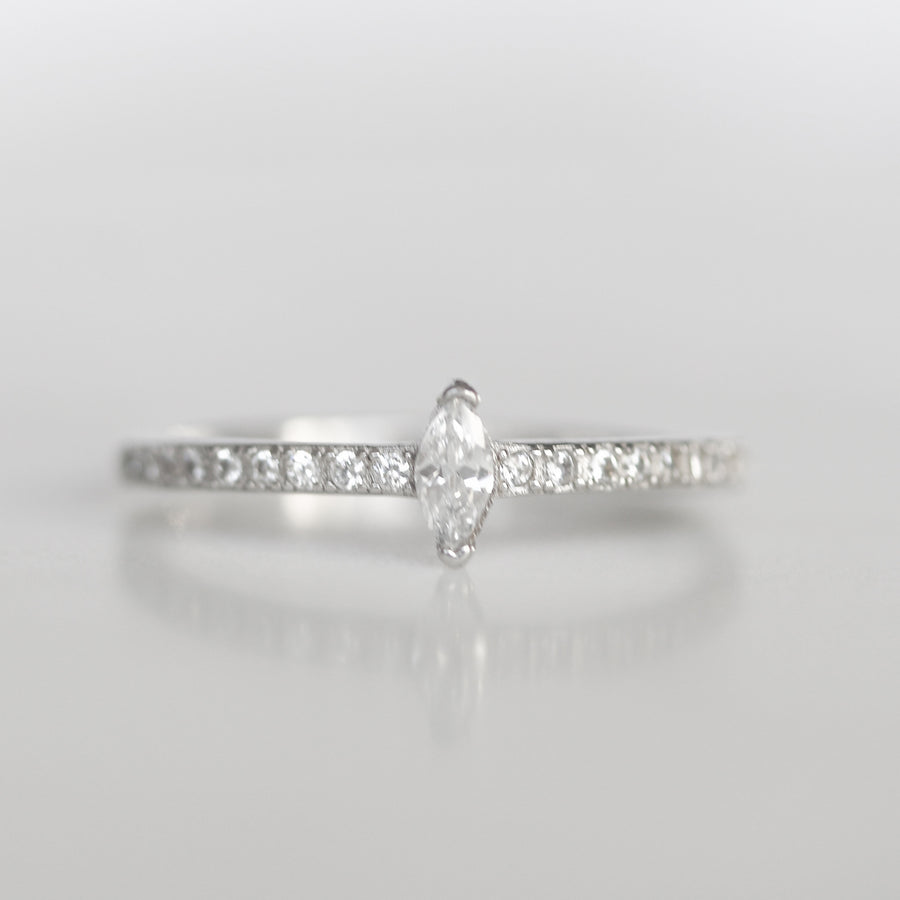 Marquise Stacker Ring