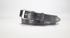"American Alligator Belt - Glossy 1 1/4"" - 32mm (Brown)"