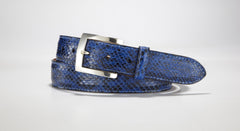 "Anaconda Belt - 1 3/8"" - 35mm (Royal Blue)"