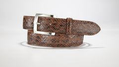 "Anaconda Belt - 1 3/8"" - 35mm (Brown)"