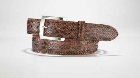 "Anaconda Belt - 1 3/8"" - 35mm (Tobacco)"