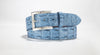 "Hornback Saltwater Crocodile 1 5/8"" - 40mm (Denim)"
