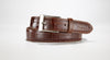 "American Alligator Belt - Glossy 1 3/8"" - 35mm (Orange)"