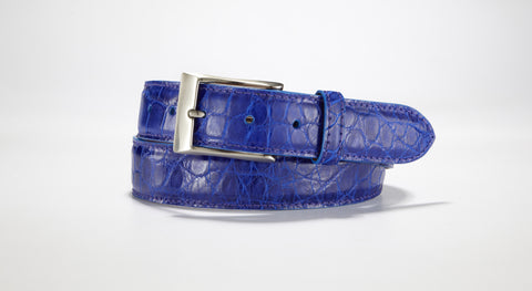 American Alligator Belt - Glossy 1 3/8