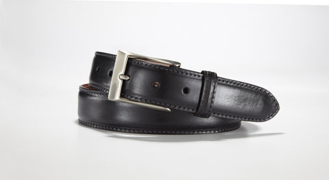 "Italian Calf 1 3/8"" - 35mm (Black)"
