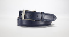 "Italian Calf 1 3/8"" - 35mm (Navy Blue)"