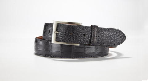 American Alligator Belt - Matte 1 3/8