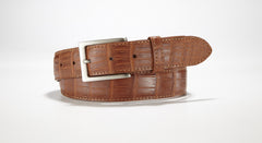 "American Alligator Belt - Matte 1 3/8"" - 35mm (Brown)"