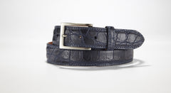 "American Alligator Belt - Matte 1 3/8"" - 35mm (Black)"