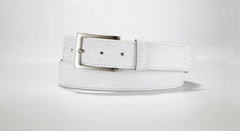 "American Alligator Belt - Matte 1 3/8"" - 35mm (Navy Blue)"