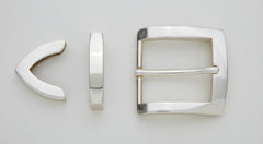 "3 Piece Buckle Set for 1 3/8"" - 35mm Belt"