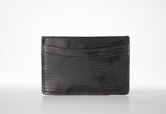 Lizard Card Holder - Black