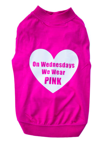 Pink on Wednesdays