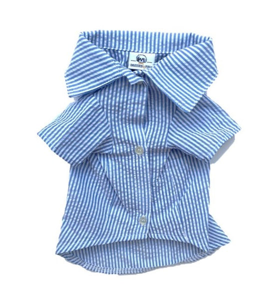 Carlisle Blue Shirt - Dressed By Finn, LLC