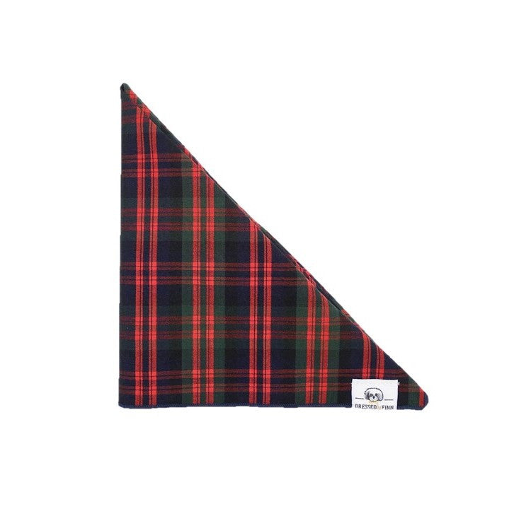 Riley Plaid Bandanna - Dressed By Finn, LLC
