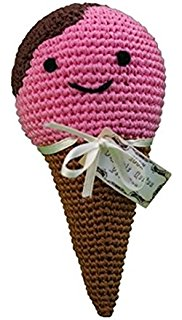 Jerry the Ice Cream Cone Dog Toy - Dressed By Finn, LLC