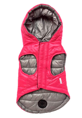 Reversible Puffer Jacket (plus Travel Pouch)