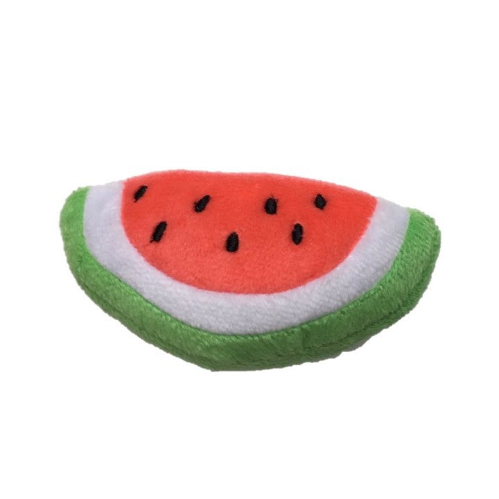 Watermelon Half Squeaky Toy - Dressed By Finn, LLC