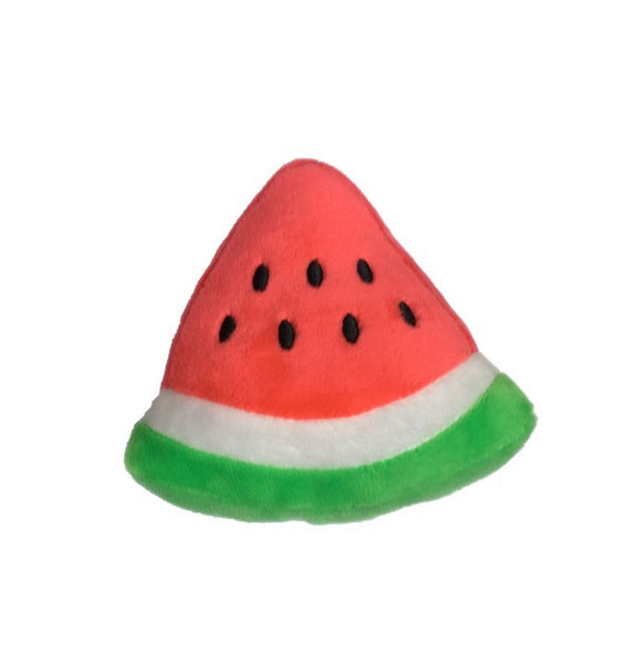 Watermelon Slice Squeaky Toy - Dressed By Finn, LLC