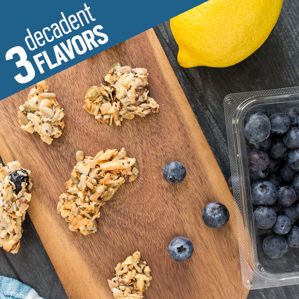 Lemon Blueberry Tart Keto Granola 2-Pack