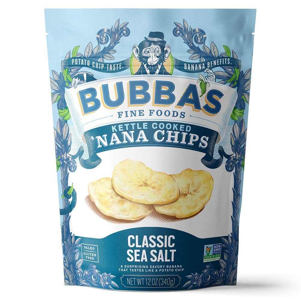Classic Sea Salt 'Nana Chips Bulk 12oz Bag