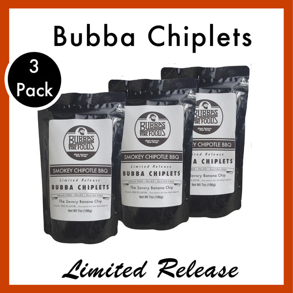 Smokey Chipotle BBQ Bubba Chiplets: 3-Pack
