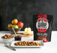 CLOSEOUT! Cinnful Apple UnGranola 6-Pack 6oz BEARDED BAGS - Bubba's Fine Foods