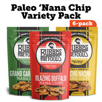 Z-ARCHIVE 'Nana Chips Variety Pack, 6 Bag Pack - PaleoHacks Exclusive Offer 20% off - Bubba's Fine Foods