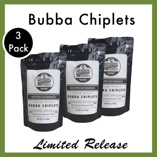 Righteous Ranch Bubba Chiplets: 3-Pack