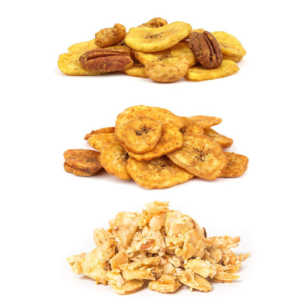 The Full Family Variety Pack: Snack Mix, Nana Chips, UnGranola