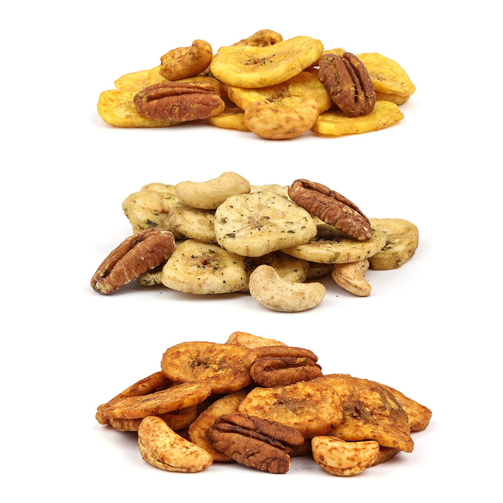 Snack Mix 4oz Variety Pack: 3-Pack - Bubba's Fine Foods