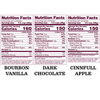 UnGranola Variety Pack: 3-Pack - Bubba's Fine Foods Nutrition Facts