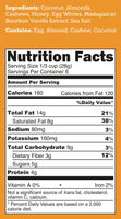 CLOSEOUT! Bourbon Vanilla UnGranola 6-Pack 6oz BEARDED BAGS - Bubba's Fine Foods Nutrition Facts