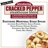 Cracked Pepper Steakhouse Blend Snack Mix: 2-Pack - Bubba's Fine Foods