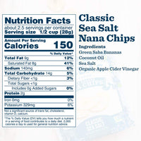 Classic Sea Salt 'Nana Chips: 8-Pack