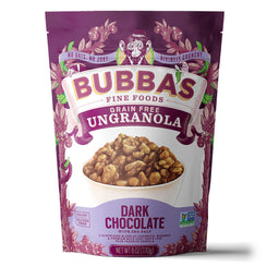 Dark Chocolate with Sea Salt UnGranola