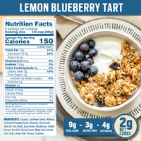 Nutrition Panel - Lemon Blueberry Keto Granola