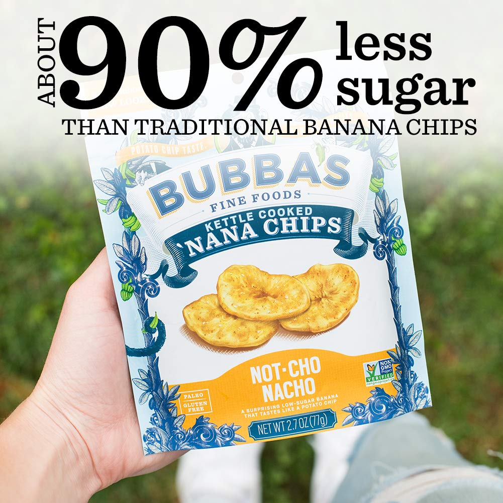Not-cho Nacho 'Nana Chips: 8-Pack