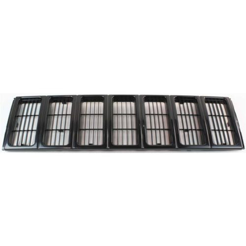 1997-2001 Jeep Cherokee Grille, Black
