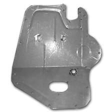 1949-1952 Plymouth Savoy Front Floor Pan Access Panel, Left Side Only