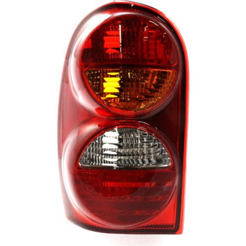 2002-2002 Jeep Liberty Tail Lamp LH, Lens And Housing
