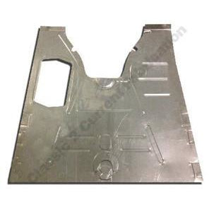 1933-1934 Ford Tudor Complete Front Floor Pan - Classic 2 Current Fabrication