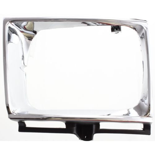 Headlight Door Compatible with Toyota Pickup 1992-1995 LH 4WD Silver