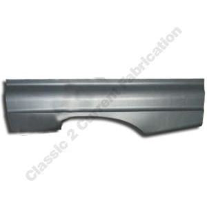 1960-1963 Ford Falcon Full Lower Rear Quarter Panel Left Half