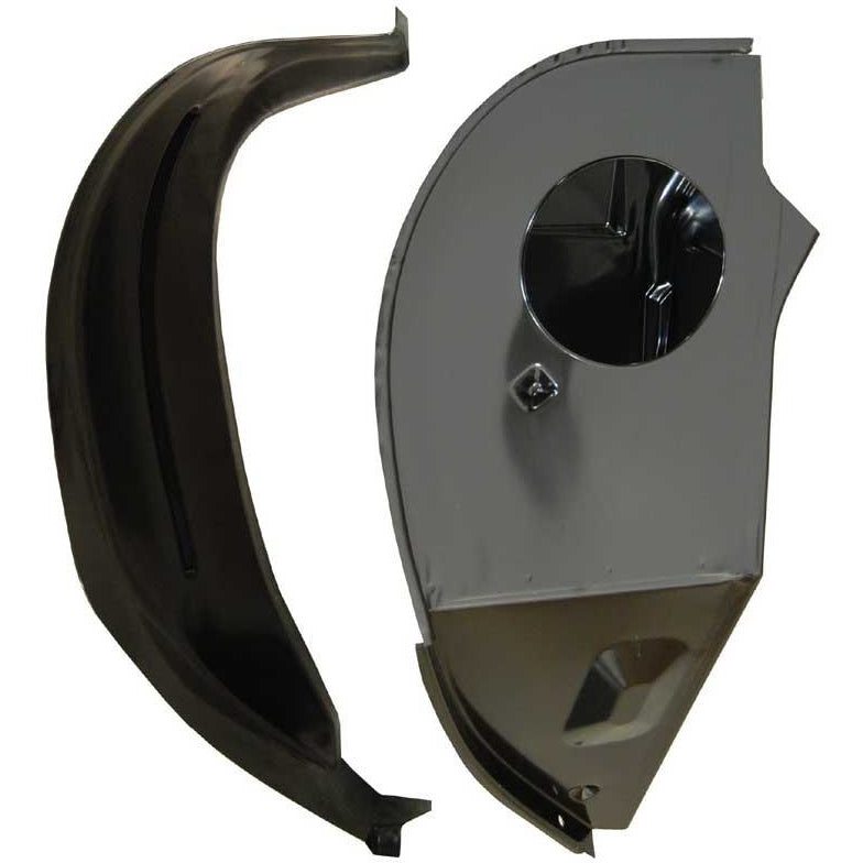 1967 - 1969 Chevy Camaro Outer Cowl Side RH