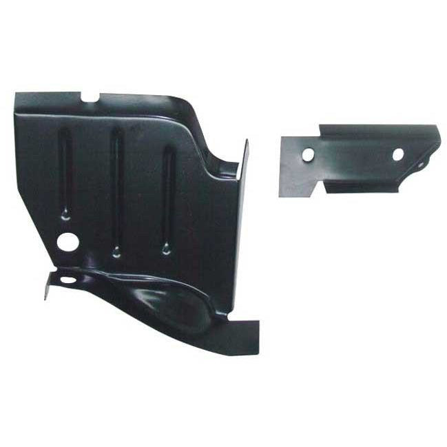 1970 - 1974 Dodge Challenger E-Body Rocker to Lower Splash Shield LH