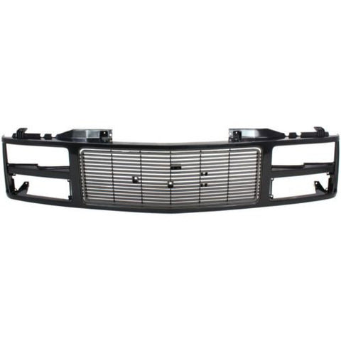 1988-1993 Chevy C/K Pickup Grille, Black