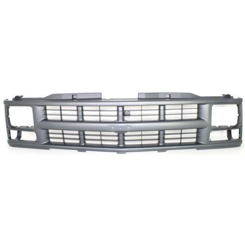 1994-2002 GMC Pickup Grille,Silver/gray