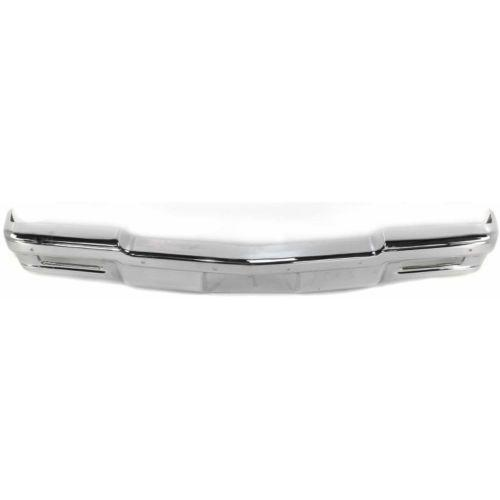 1980-1990 Chevy Caprice Front Bumper,Face Bar,w/o Molding Hole