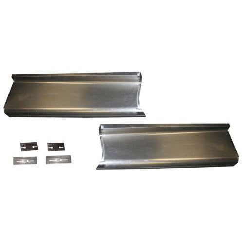 1934 Chevy Master Smooth Running Board Set W/Adapters